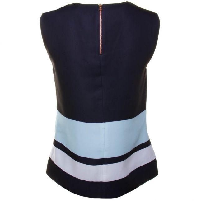 Womens Navy Beree Magnolia Stripe Top