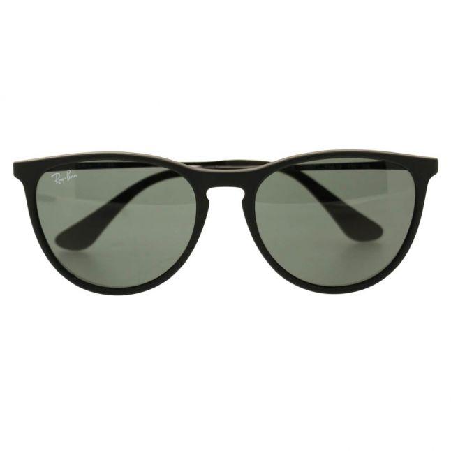 Junior Black & Blue Mirror RJ9060S Erika Rubber Sunglasses