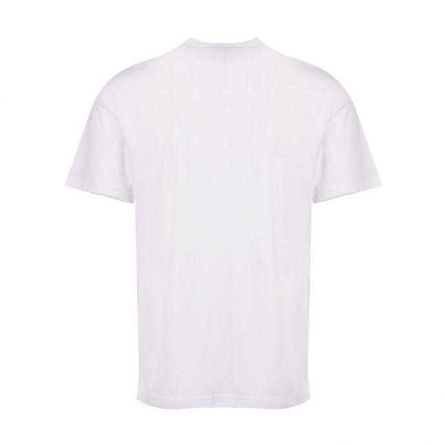 Mens White Frame S/s T Shirt
