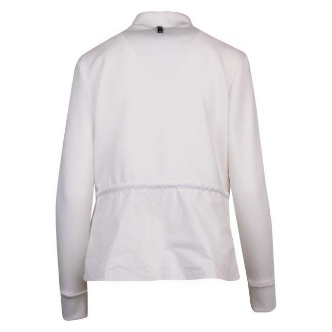 Womens White Joyce Padded Hybrid Jacket