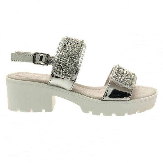 Girls Silver Splendid Sandals (28-37)