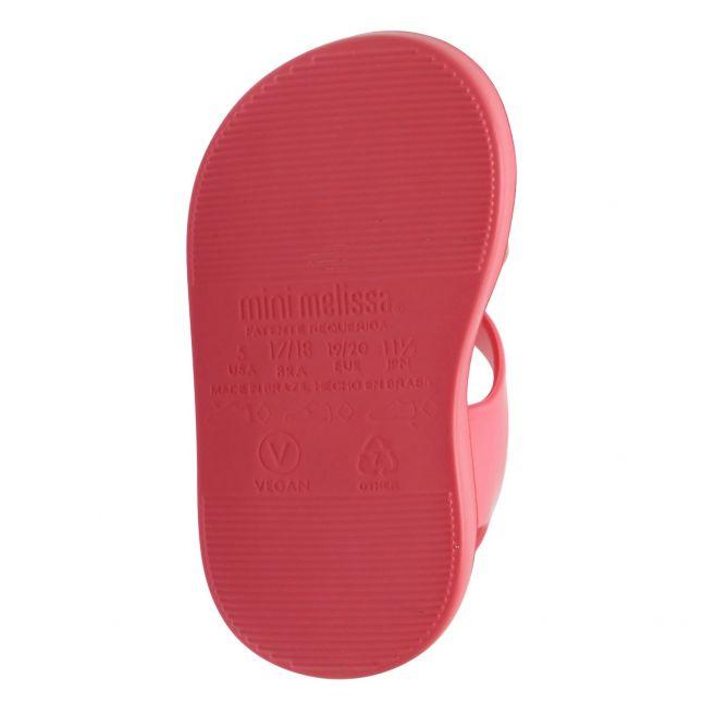 Girls Pink Glitter Mini Jump Sunny Sandals (4-9)