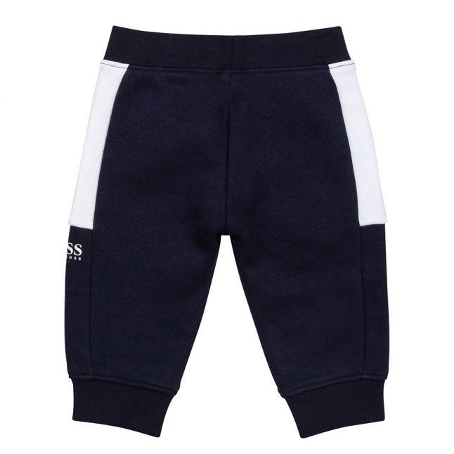 Toddler Navy Colourblock Sweat Pants