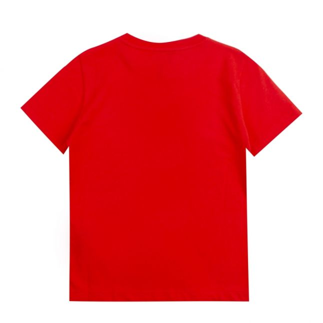 Boys Poppy Red Train Core ID S/s T Shirt