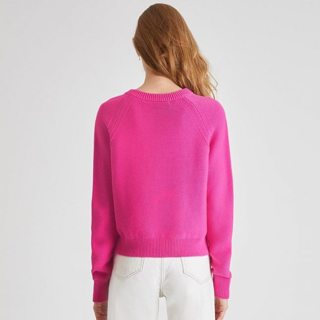 Womens Wild Rosa Lillie Mozart Crew Knitted Top