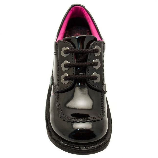 Junior Black Patent Leather Kick Lo F (12.5-2.5)