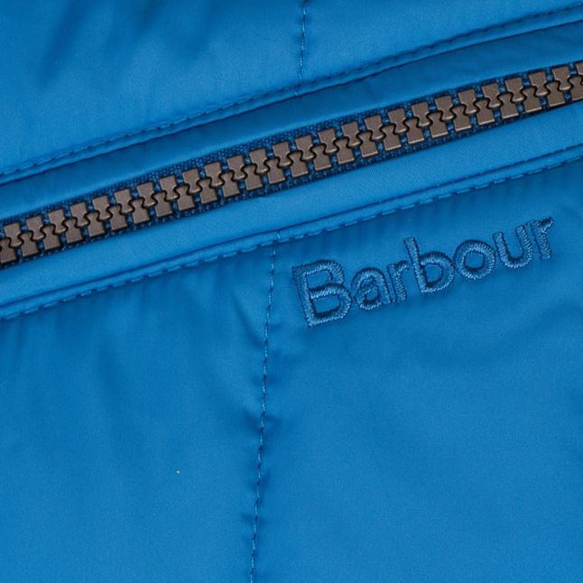 Girls Beachcomber Blue Ebb Tide Quilt Jacket