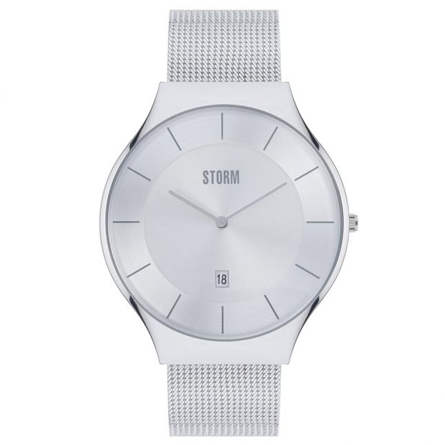 Mens Silver Dial Reese XL Watch