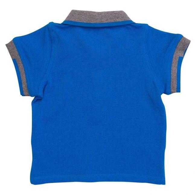 Baby Bright Blue Small Logo S/s Polo Shirt