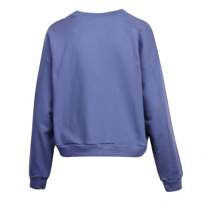 Womens Colony Blue Graphic Diana Sweat Top