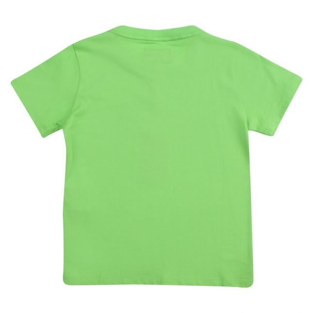 Boys Green Branded Eagle S/s T Shirt
