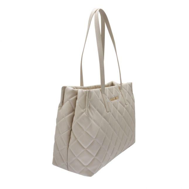 Womens Ecru Ocarina Quilted Shopper Bag