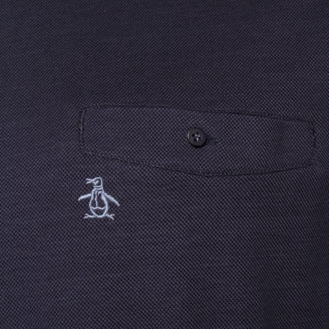 Mens Dark Denim Birdseye S/s Tee Shirt