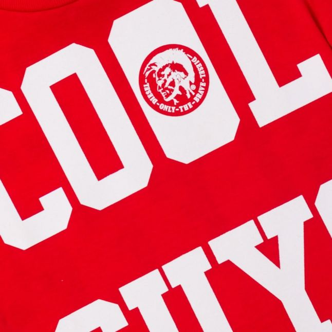 Boys Red Blood Cool Guy S/s Tee Shirt