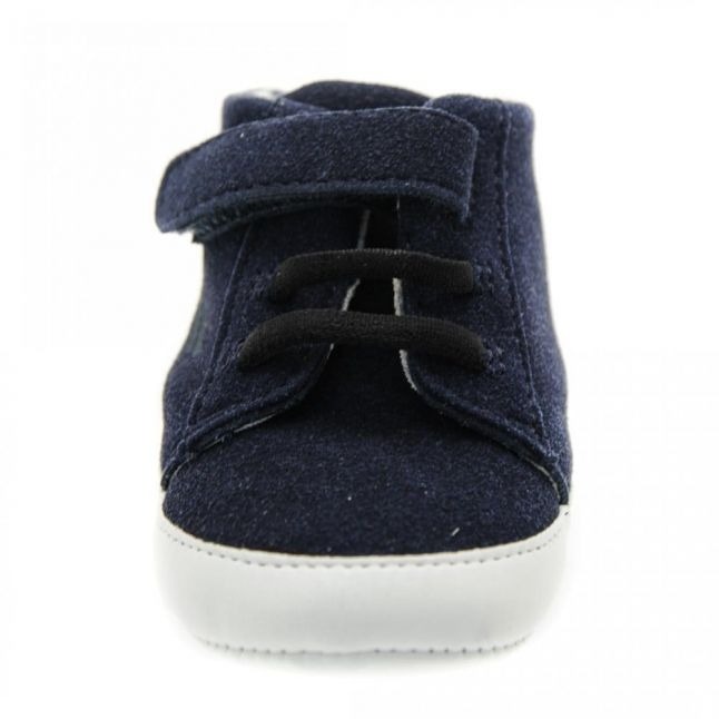Baby Navy Branded Trainers (15-19)