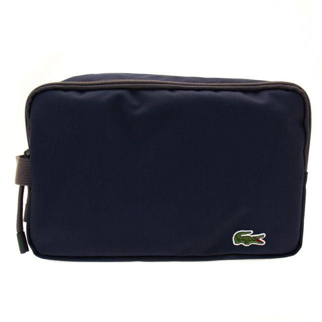 Mens Black Iris Wash Bag