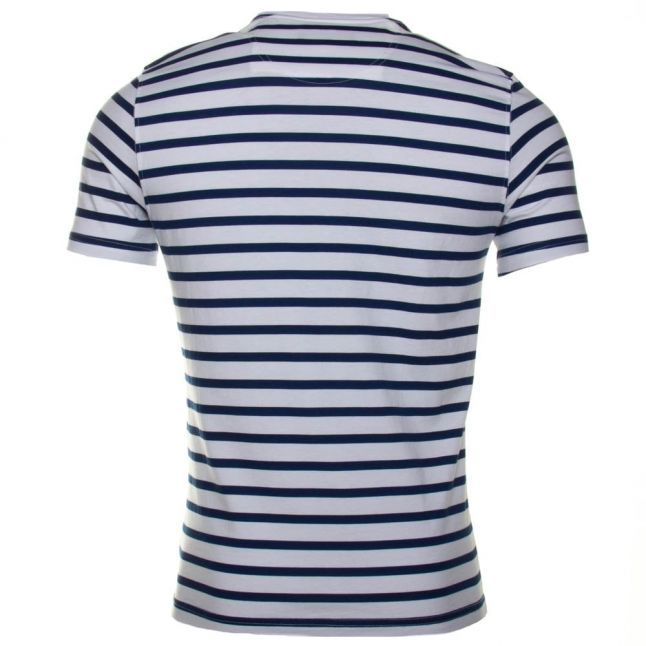 Lifestyle Mens Blue Greystead Striped S/s Tee Shirt