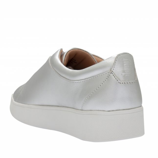 Womens Silver Rally Trainers
