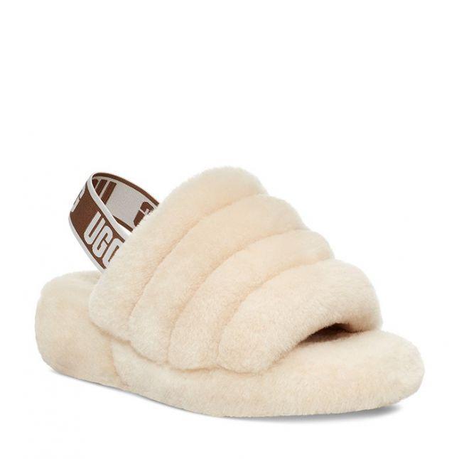 Kids Natural Fluff Yeah Slide Slippers (12-5)