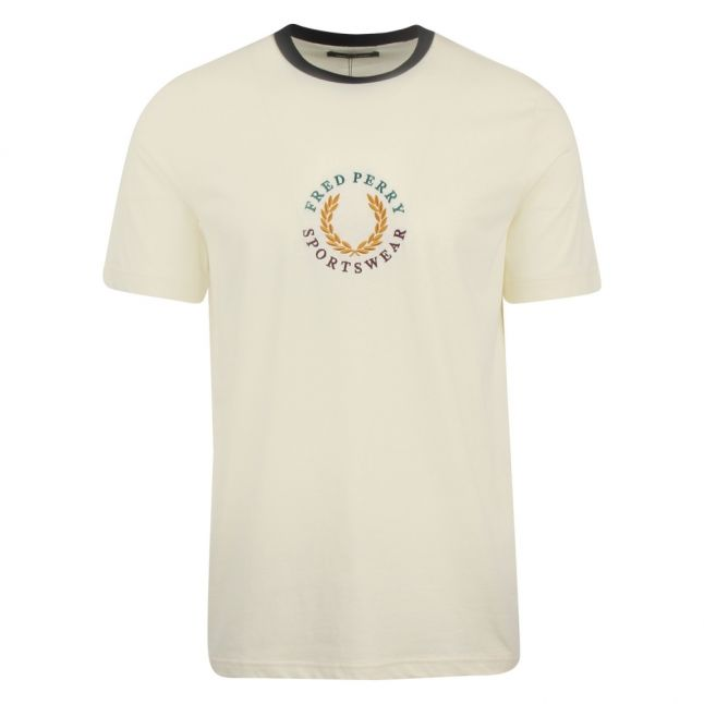 Mens Butter Icing Global Branded S/s T Shirt