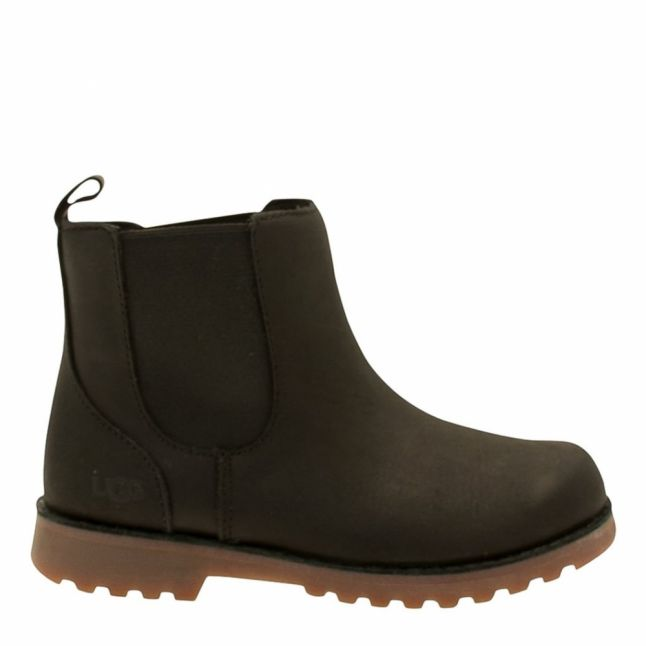 Kids Black Callum Boots (12-5)