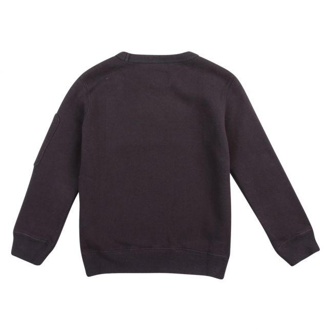 Boys Total Eclipse Branded Crew Sweat Top
