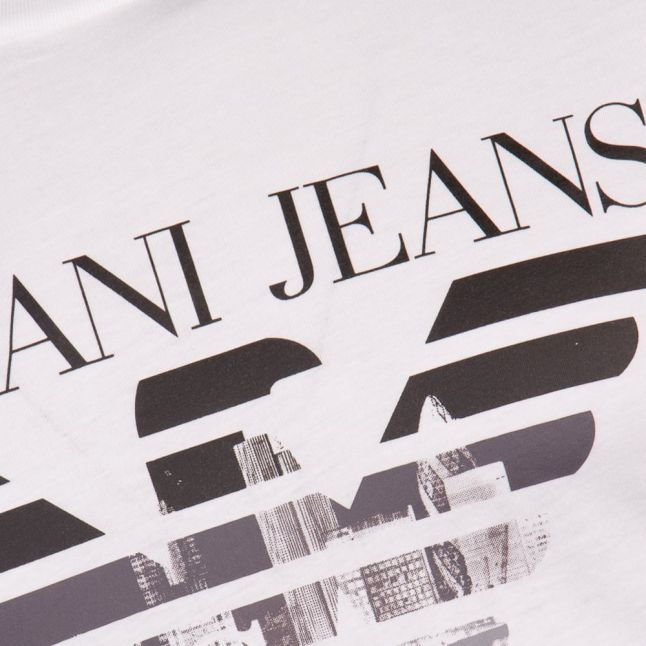 Mens White London Logo S/s Tee Shirt