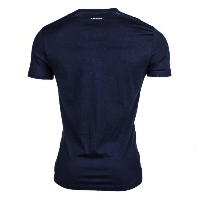 Mens Dark Blue Theon 1 S/s Tee Shirt