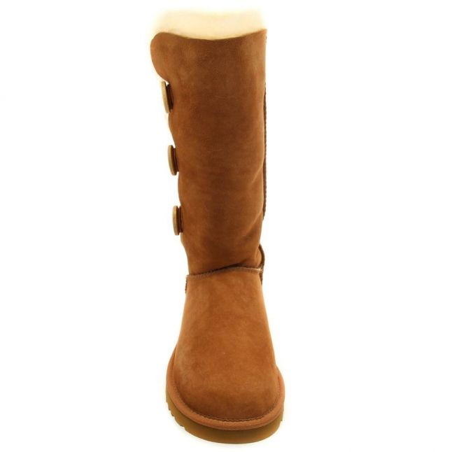 Womens Chestnut Bailey Button Triplet Boots
