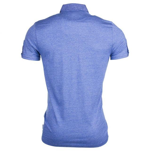 Mens Blue Zobelle S/s Polo Shirt