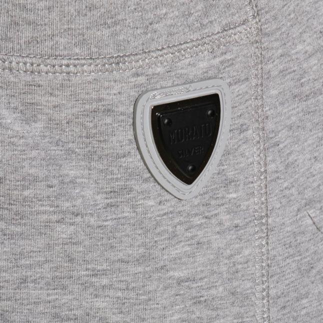 Mens Medium Grey Silver Label Cuffed Track Pants