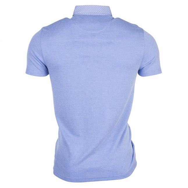 Mens Blue Super S/s Polo Shirt