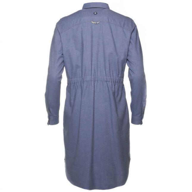 Lifestyle Womens Blue Brae Shirt Dress