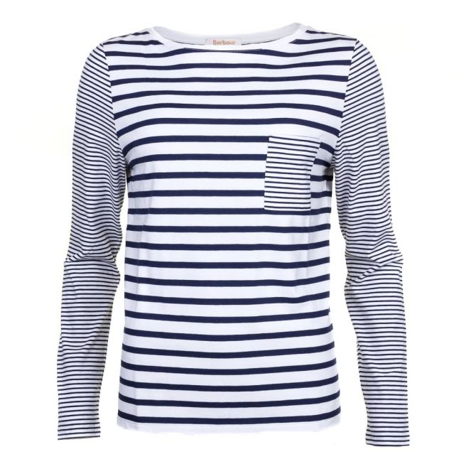 Lifestyle Womens Cloud & Navy Barnacle Top