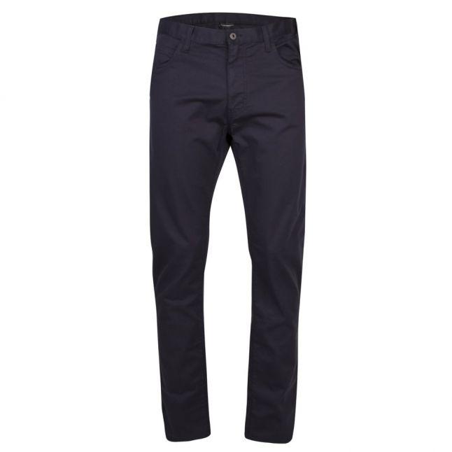 Mens Dark Blue J45 Modern Regular Fit Gabardine Jeans