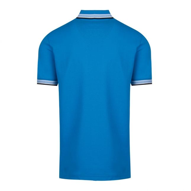 Athleisure Mens Bright Blue Paddy Regular Fit S/s Polo Shirt