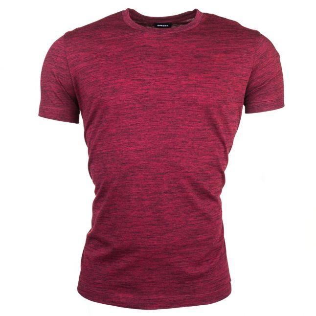 Mens Burgundy T-Sirio S/s Tee Shirt
