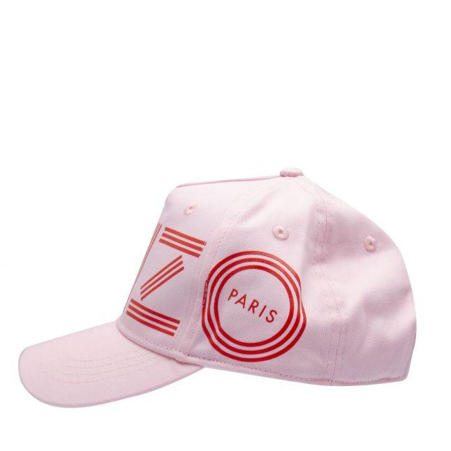 Kenzo Girls Pink Branded Logo Cap