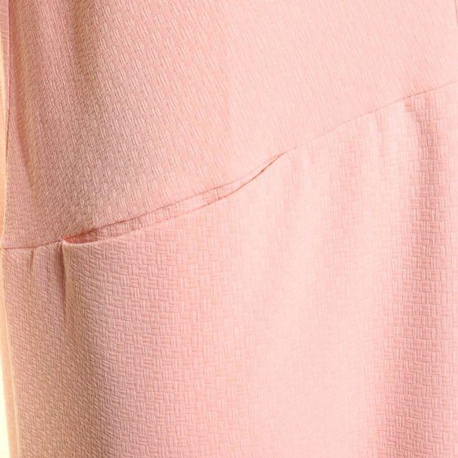 Womens Peach Lemon Squeezy Midi Dress