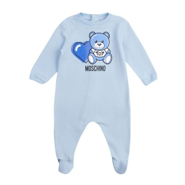 Baby Sky Toy Heart Babygrow
