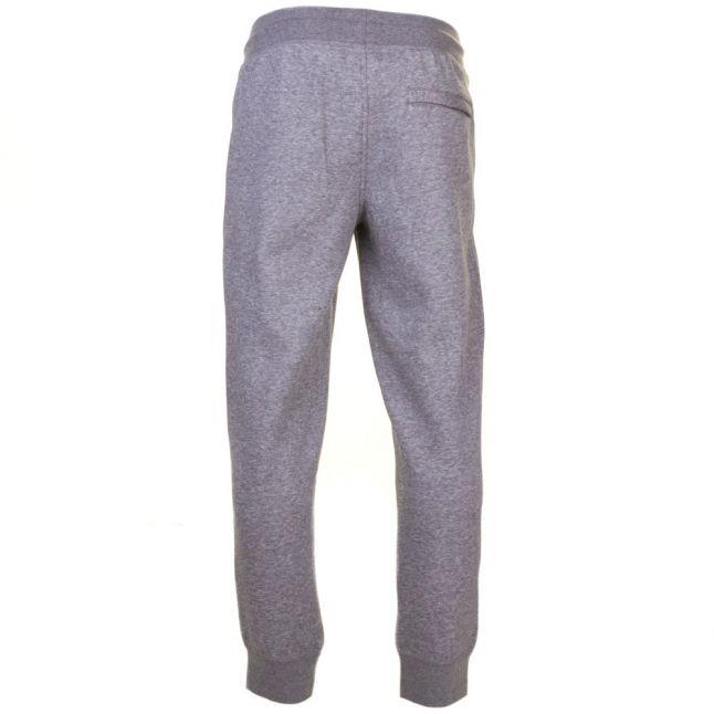 Mens Grey Cuffed Jog Pants
