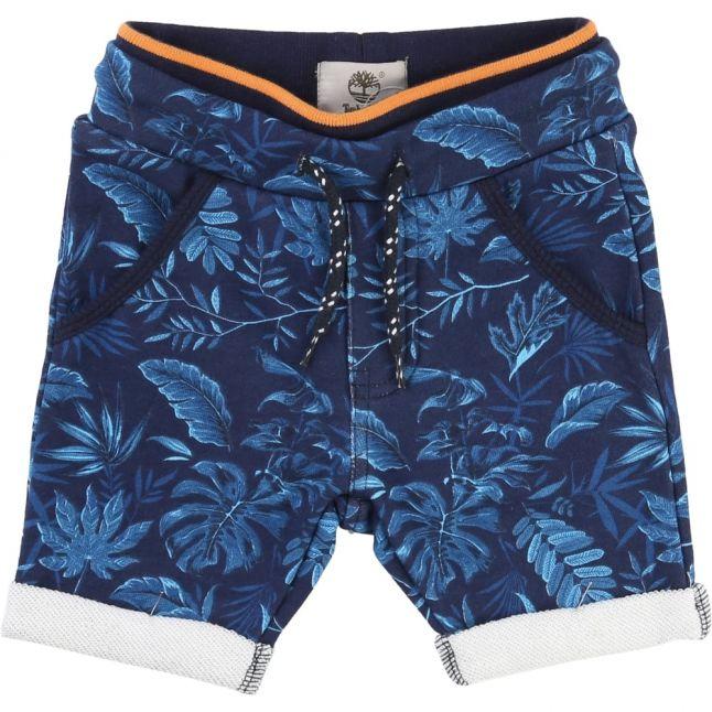 Boys Blue Tropical Shorts