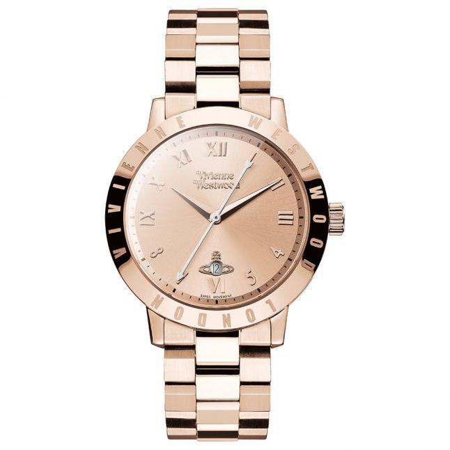 Womens Rose Gold Bloomsbury Bracelet Watch