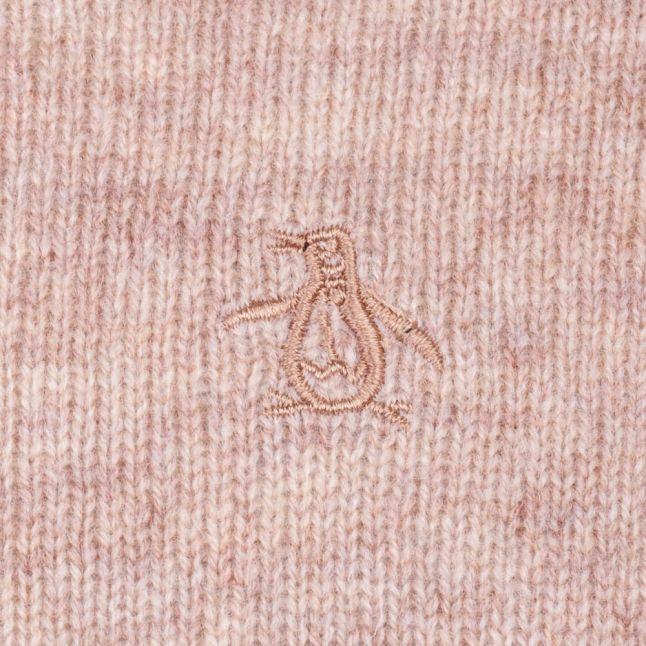 Mens Kelp Lambswool Crew Knitted Jumper