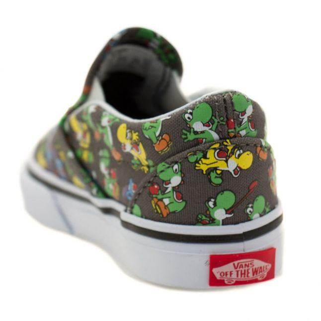 Toddler Yoshi & Pewter Classic Slip Nintendo Trainers (4-9)