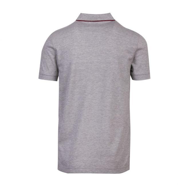 Athelisure Mens Grey Paule 4 Slim Fit S/s Polo Shirt