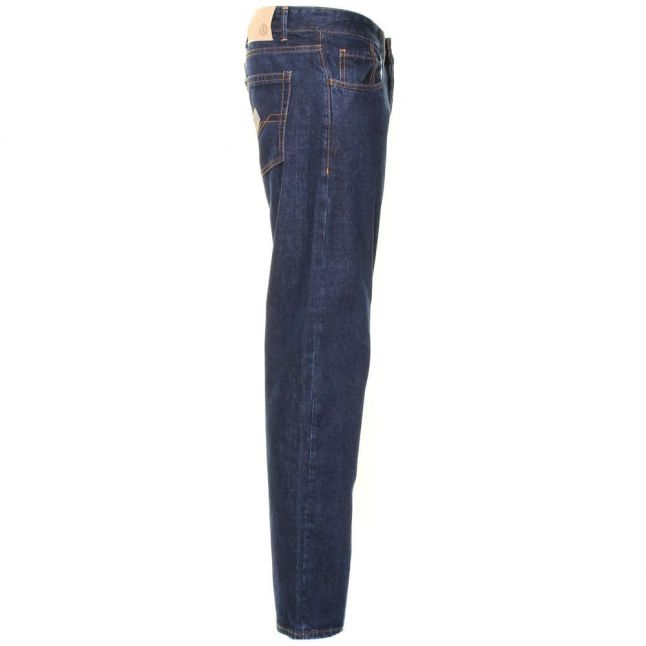 Mens Rinse Wash Benson Classic Fit Jeans