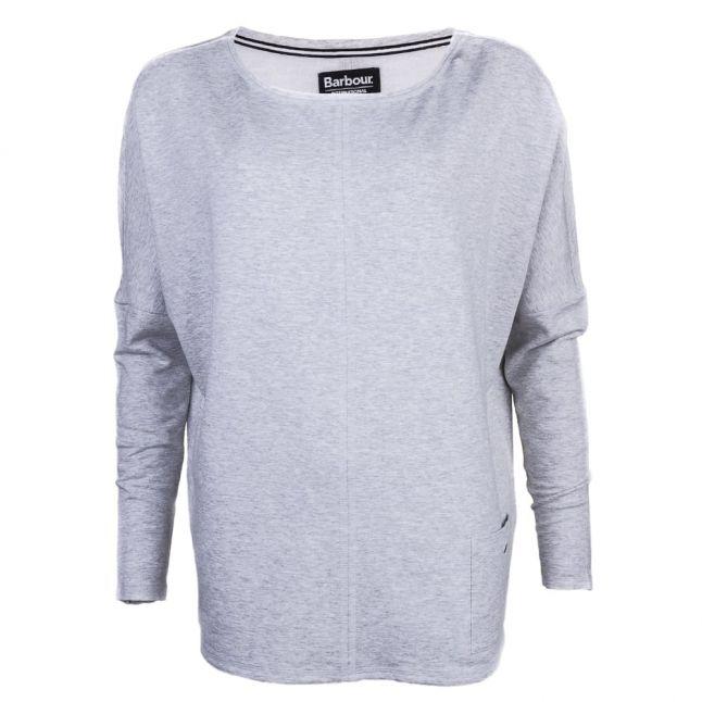 Womens Light Grey Marl Arlen Sweater