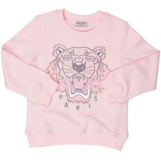 Girls Pink Tiger 10 Sweat Top