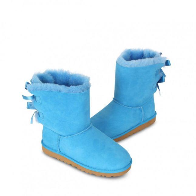 Australia Kids Blue Sky Bailey Bow Boots (12-5)